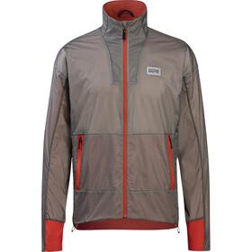 GORE WEAR Drive Jacket Men, grijs/rood